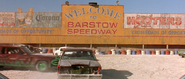 Barstow Speedway Sign