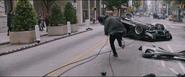 Deckard chasing after Dom (Wrecked '71 GTX)