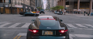 Deckard waits for Dom (2016 Jaguar & 1971 Plymouth GTX - NYC)