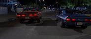 1970 Challenger & 1969 Yenko Camaro - Rear View