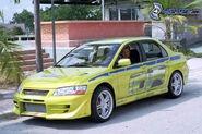 Mitsubishi Lancer Fast And Furious