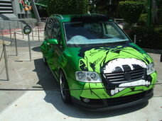 Twinkies hulk car