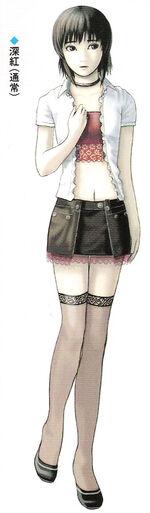 Miku default costume art