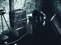 Woman in box2