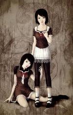 Mio and Mayu art1