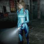 FFMoBW - Yuuri (Zero Suit Samus Costume)
