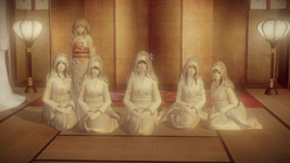 All priestesses in Fatal Frame 5