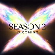 Season 2 is Coming Promotional Teaser Image