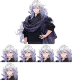 Merlin Costume Expression Sheet