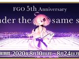 Fate/Grand Order ~5th Anniversary~