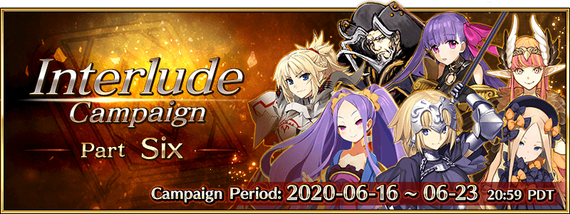 Interlude Campaign 6 (US)