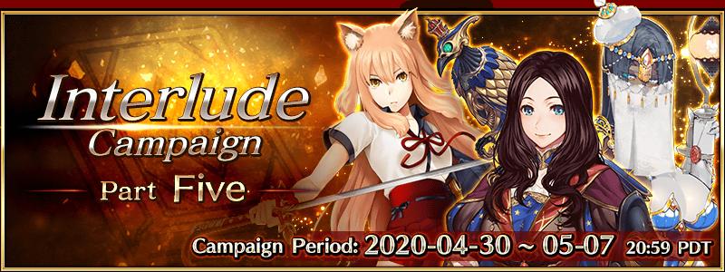 Interlude Campaign 5 (US)
