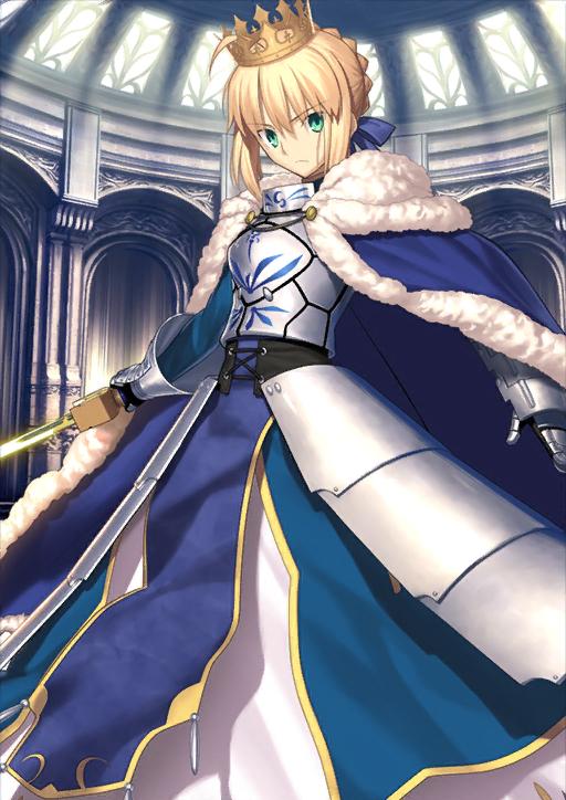 NA//ENG Saber Fate Grand Order FGO Altria//Artoria Pendragon 0-100SQ starter