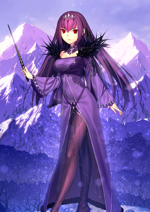 Scathach Stage 2 Lancer Star 5 FGO Fate Grand Order Arcade Mint Card