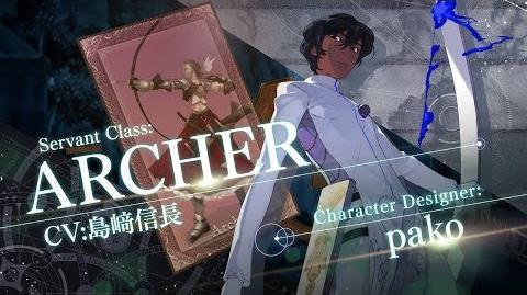 Fate Grand Order 7週連続TV-CM 第7弾 アーチャー編
