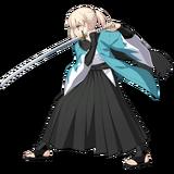 Okita Souji Sprite Costume1