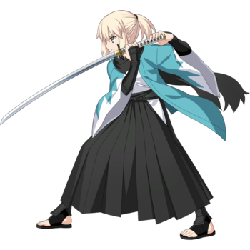 Haori and Hakama Sprite