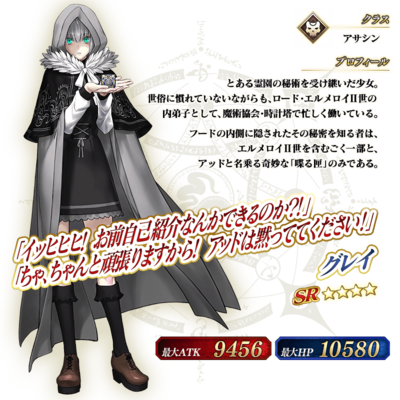 Lady Reines Case Files Gray Details.png