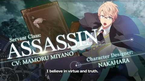 Fate Grand Order Servant Class Trailer ASSASSIN