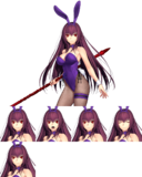 Scathach Bunny Costume