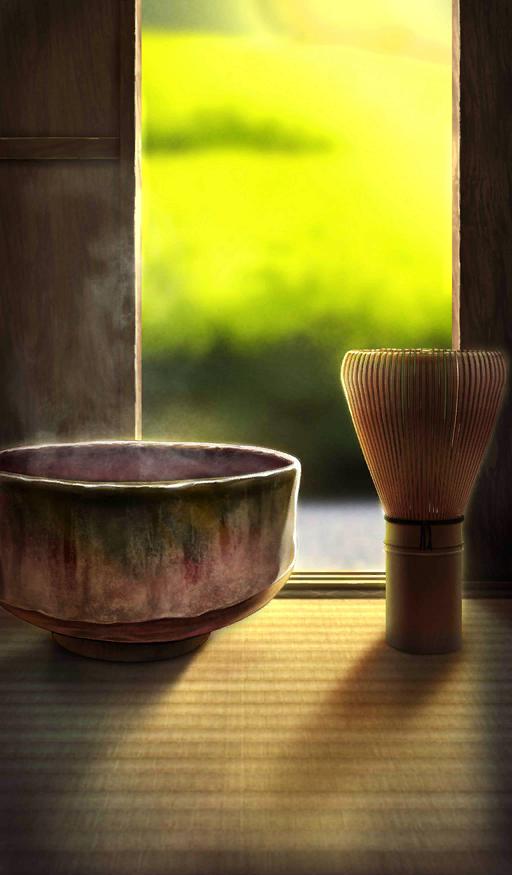 A Short Rest with Tea Preparation