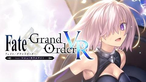 『Fate_Grand_Order_VR_feat.マシュ・キリエライト』PV