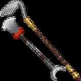 Xuanzang spade and rake