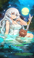 Bath of the lunar goddess