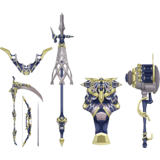 Gray Weapons Sprite