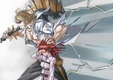 Fujimaru ritsuka and sakata kintoki fate grand order and fate series drawn by honjou raita 8ac446e347c51f010c2b78a29ca42785
