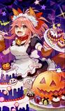 Maid in halloween