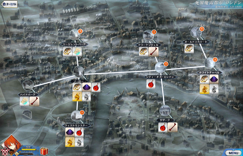 London Ascension Item Map.png