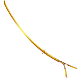 Suzuka floating sword gold