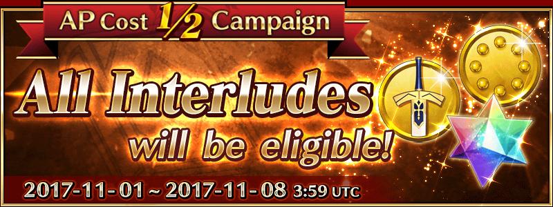Interlude 1/2 AP Campaign (US)