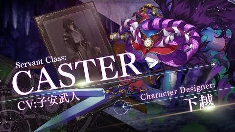 Fate Grand Order 7週連続TV-CM 第4弾 キャスター編