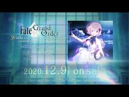 「Fate-Grand Order Waltz in the MOONLIGHT-LOSTROOM song material」発売告知CM