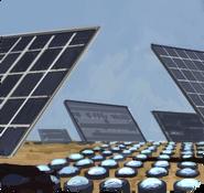 Solar polymerisation