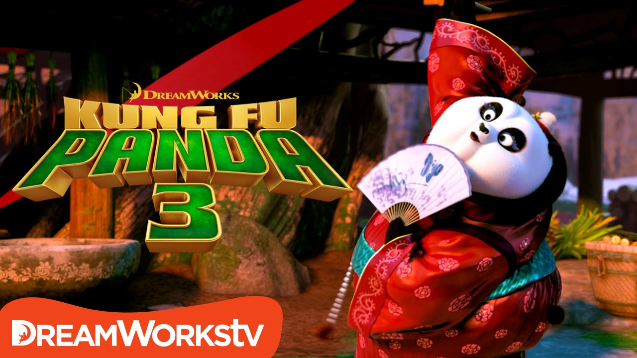 Mei Mei's Ribbon Dance | KUNG FU PANDA 3