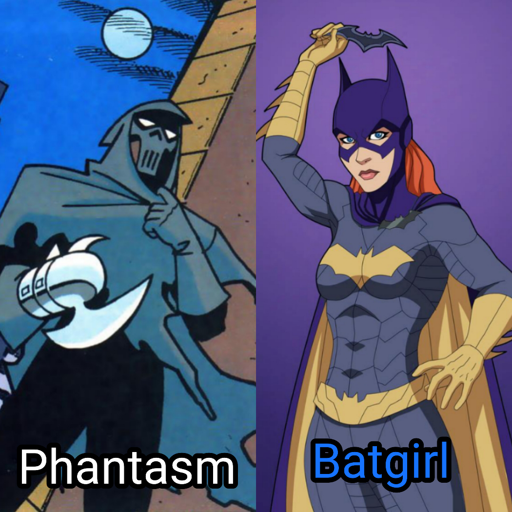 """If you had to pick one for an Elseworld JL who would you pick? Phantasm from """"Mask of the Phantasm."""""""