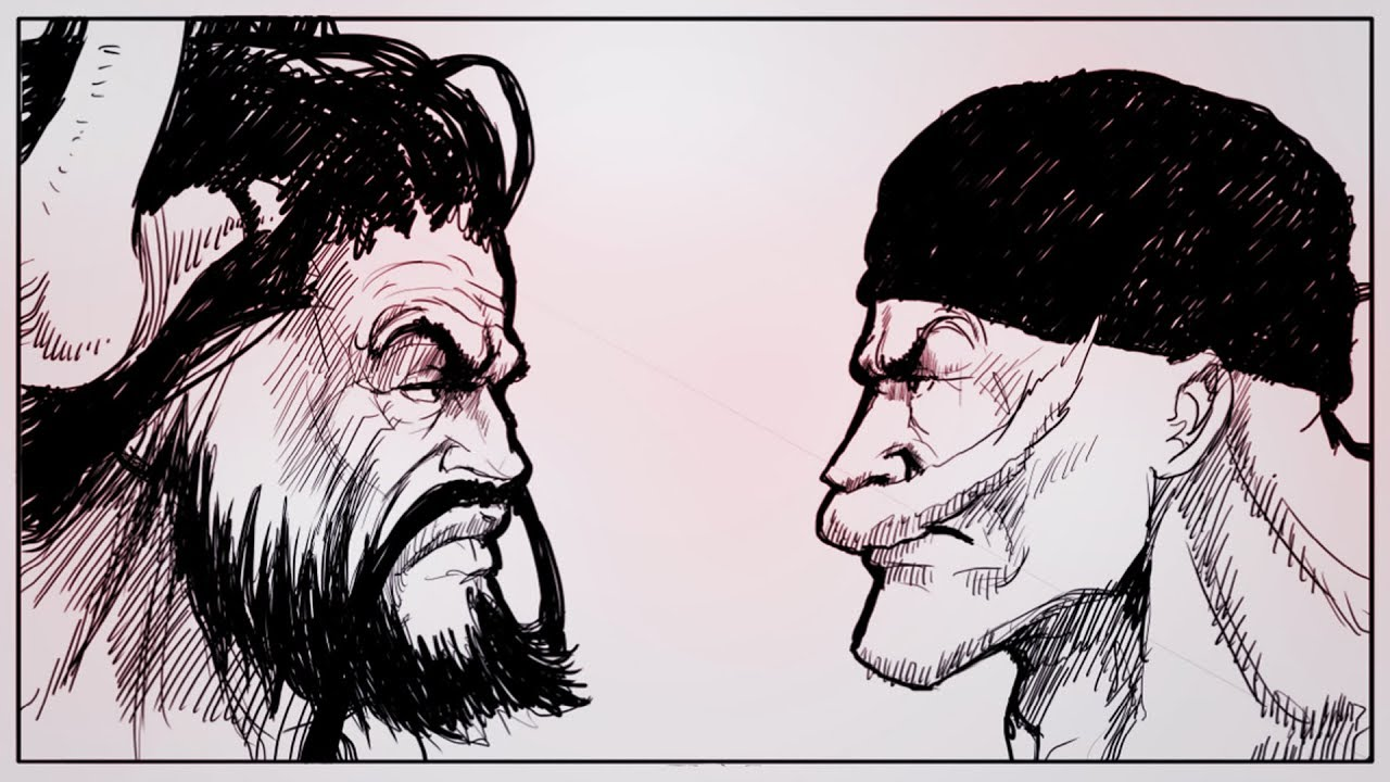 KAIDO VS EDWARD NEWGATE - A FAN DRAW THEIR FIGHT !