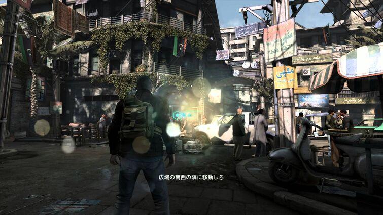 Splinter Cell Blacklist first mission Japanese