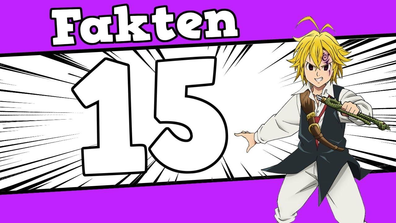 10 Fakten zu「Seven Deadly Sins/nanatsu no taizai」die du vielleicht noch nicht wusstest