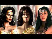 Wonder Woman's Finishers