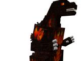 Burning Godzilla (Minecraft)