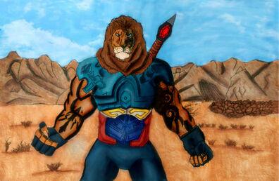 Lionman by the nemian lion dcq4zn7-pre.jpg