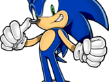 Sonic the Hedgehog (What If: Sonic was in Dragon Ball Z)