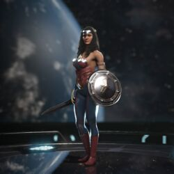 Wonder Woman (Knight of Justice)