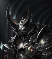 Doom eternal marauder by xous54 dclznfv-pre Saturated