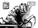 Garfield (Garfield Gameboy'd)