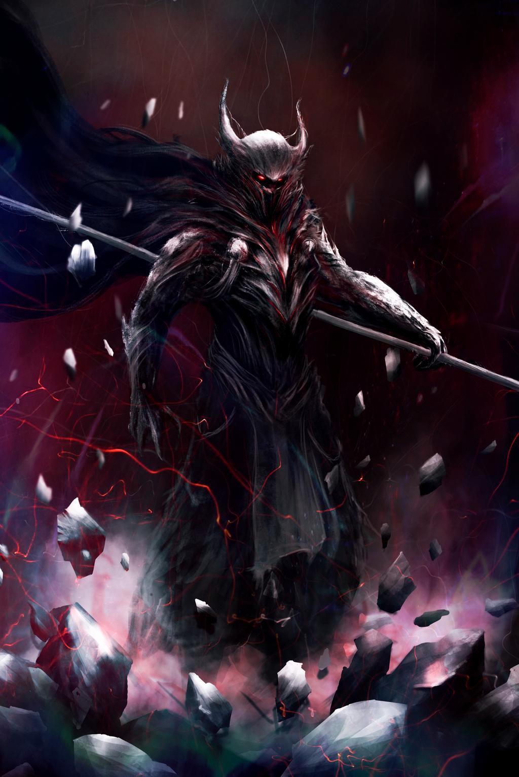 Galyan, the Blood Red Sandman